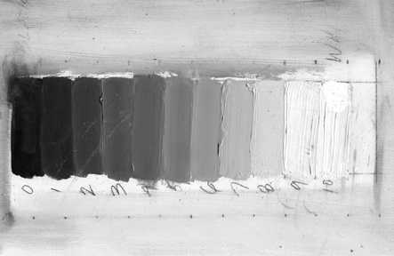paint value linear gray scale video