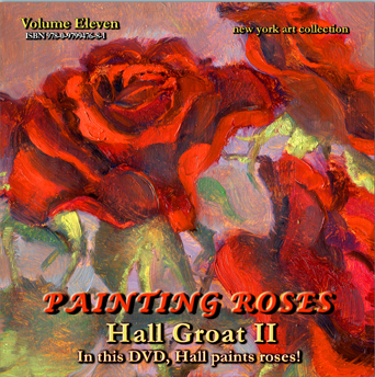 roses painting demonstration