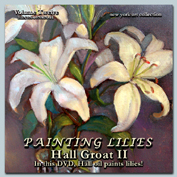 painting-flowers-lilies