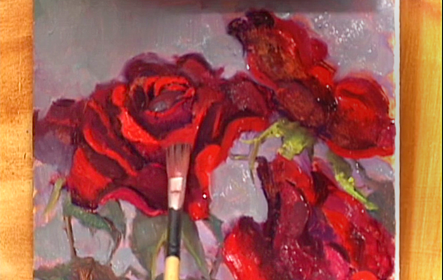 DVD Techniques Rose Painting