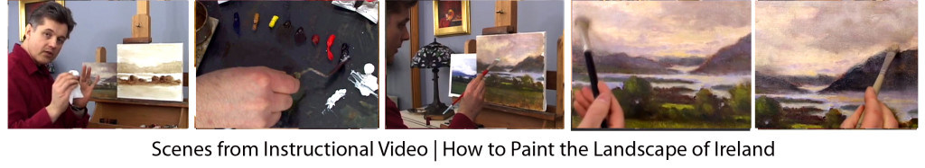 Video Painting Lessons Ireland